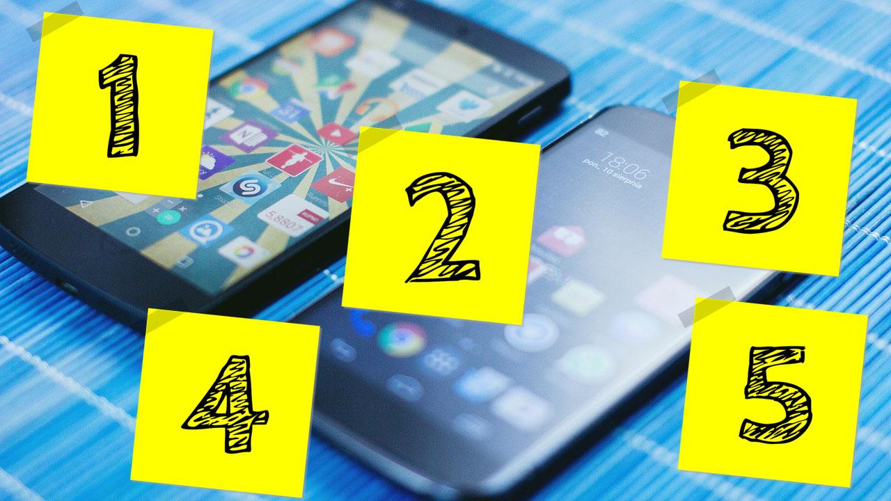 Ranking celulares
