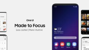 Interfaz Samsung One UI