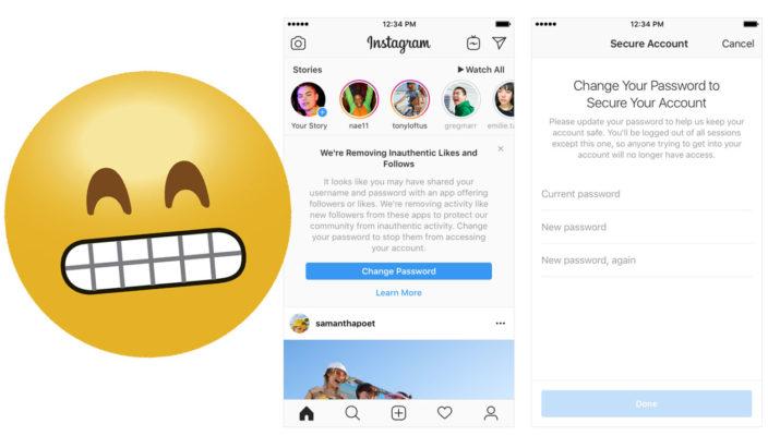 Seguidores falsos Instagram
