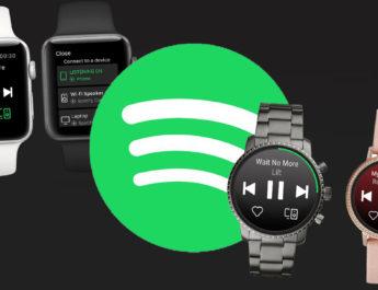 Spotify, ahora con app para Apple Watch y relojes inteligentes con Wear OS de Google
