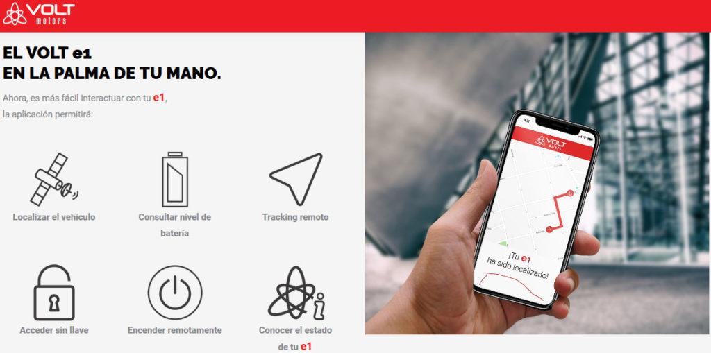 Volt e1 app