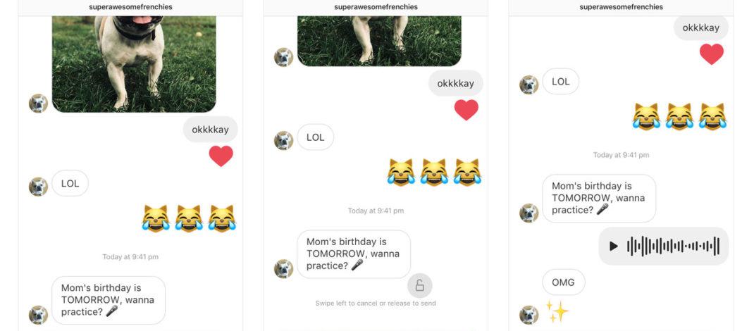 Instagram sumó una de las funciones más esperadas (y odiadas): mensajes de voz