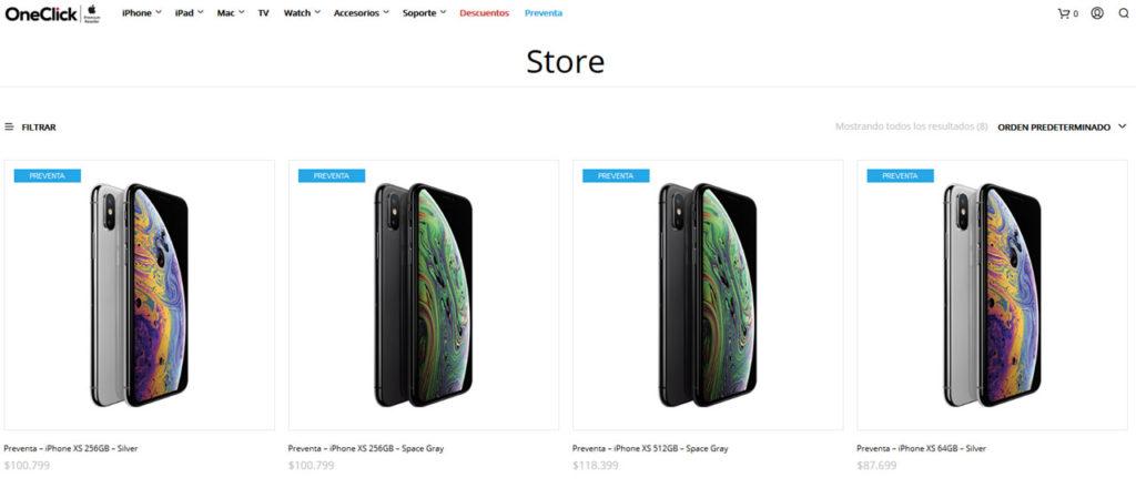 Precio iPhone OneClick