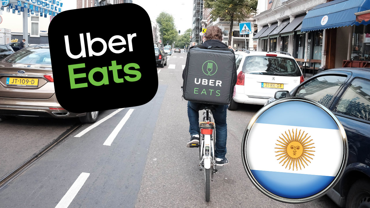 Uber Eats en Argentina