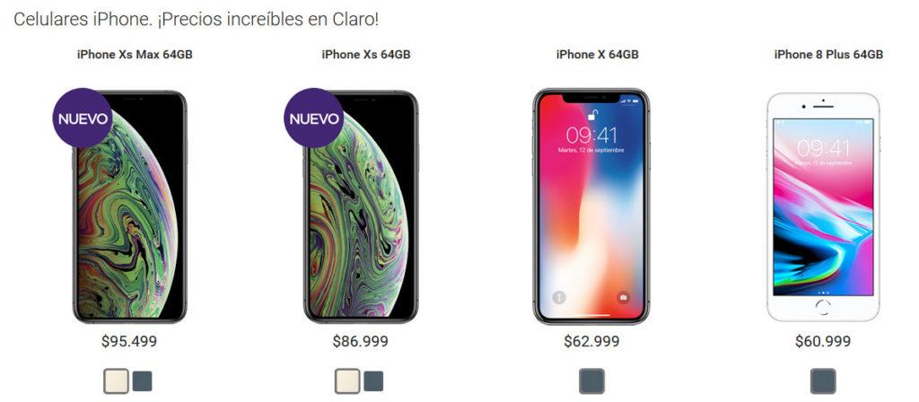 iPhone XS Claro