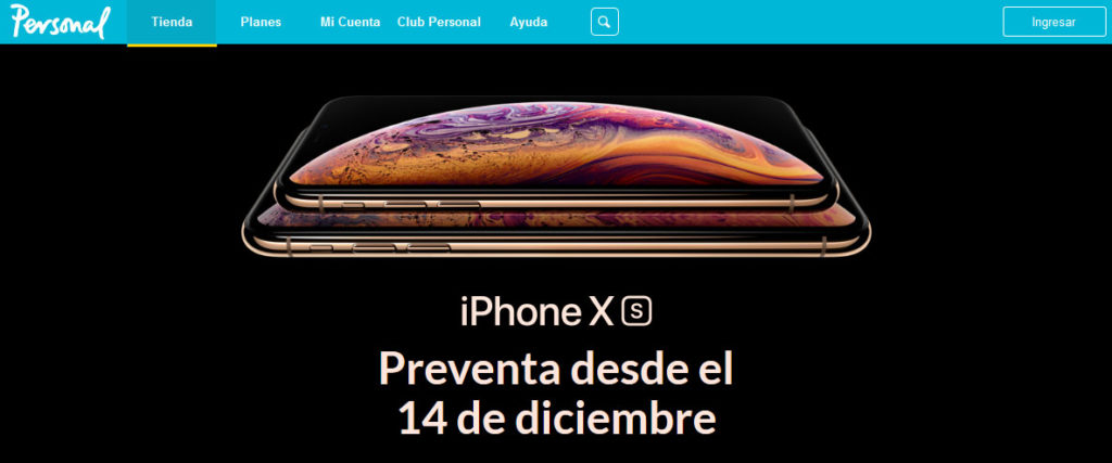 iPhone XS Personal Argentina