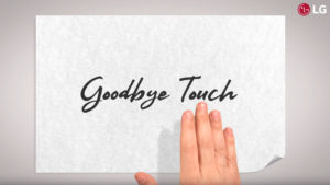 LG G8 control gestos