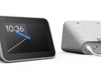 Lenovo presentó un reloj despertador inteligente, potenciado por Google