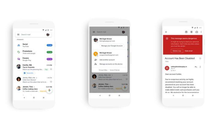 Nueva app Gmail
