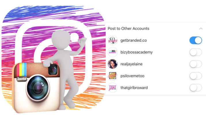 Posteo varias cuentas Instagram