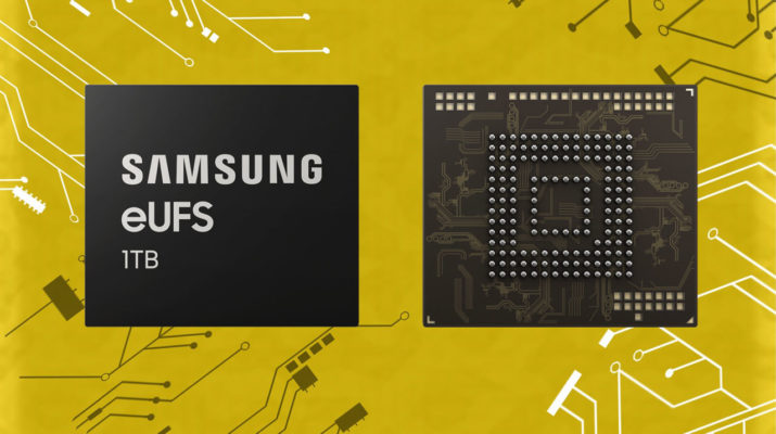 Samsung eUFS 1 TB