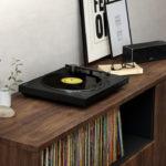 Sony presentó un tocadiscos con Bluetooth para llevar la música a cualquier parte del hogar