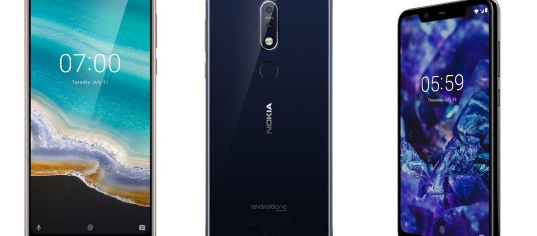 Nokia renovó (y mejoró) su portfolio para Argentina con los Nokia 7.1 y Nokia 5.1 Plus