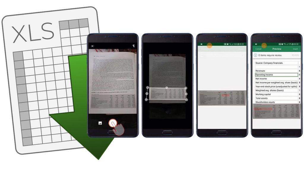 Foto tabla Excel