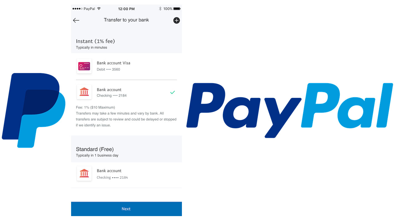 Transferencias inmediatas PayPal