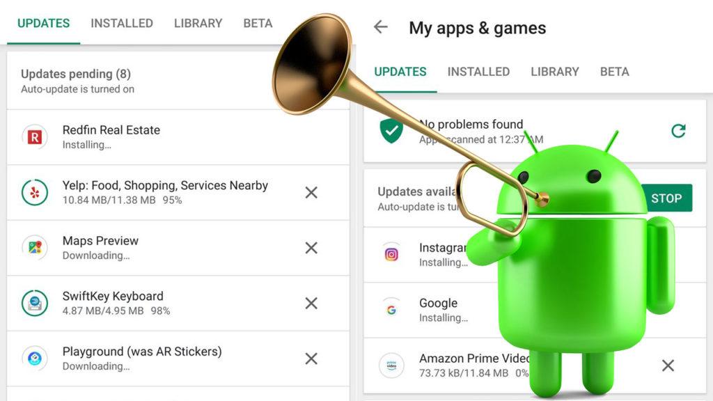 Descarga simultanea Android