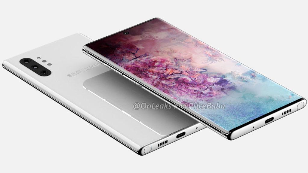 Galaxy Note 10 y Galaxy Note 10 Pro