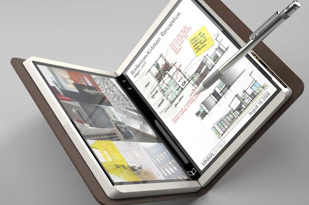 Tablet plegable Microsoft Centaurus