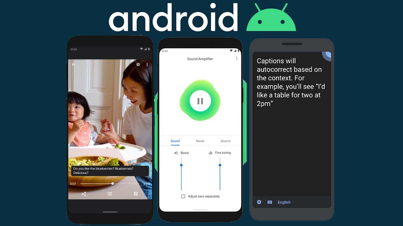 Accesibilidad Android 10