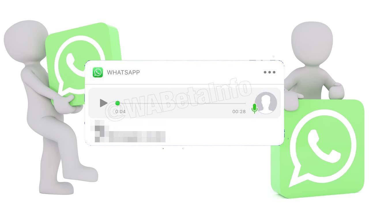 Audio WhatsApp notificacion