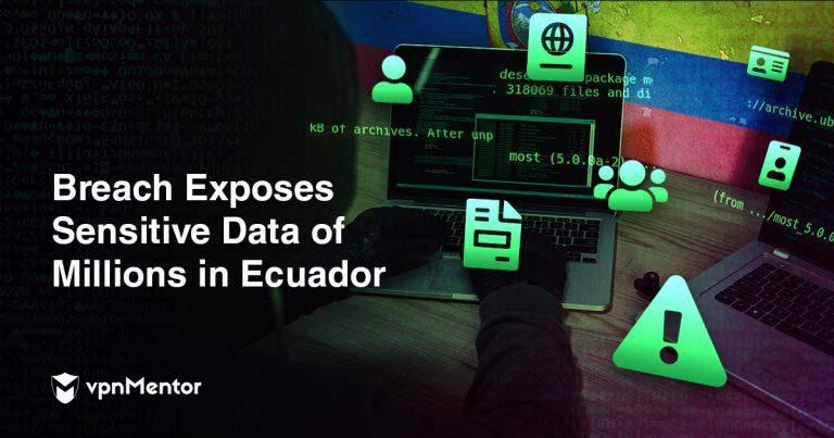 Filtracion datos Ecuador