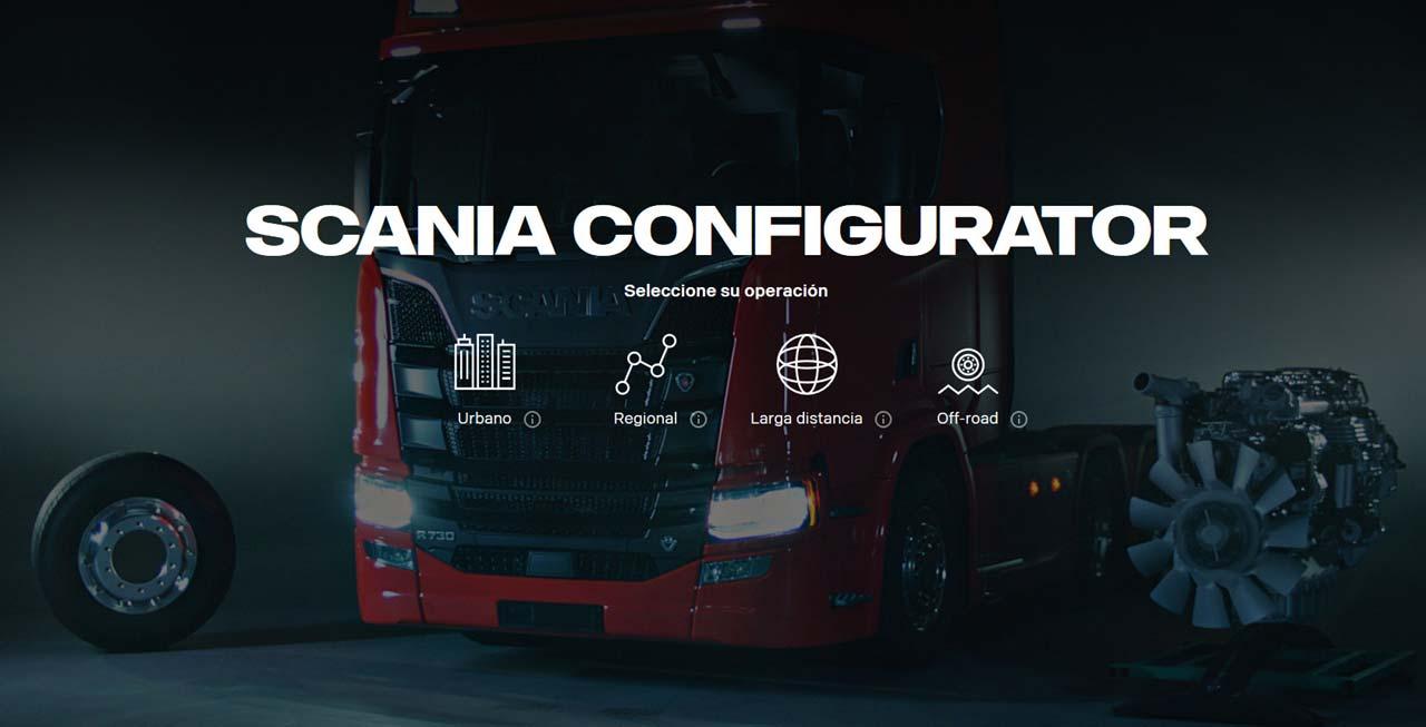 Scania Configurator