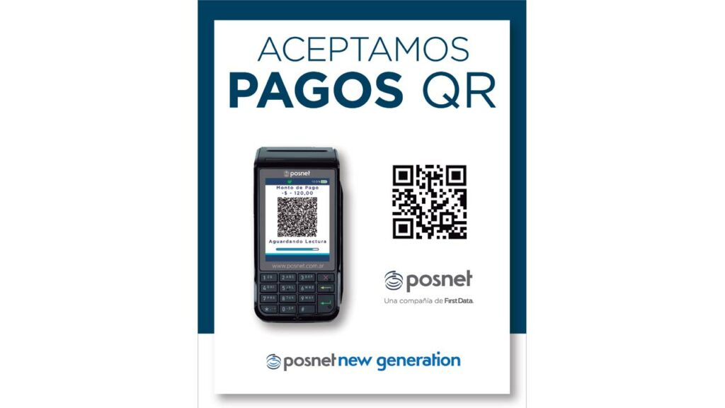 Posnet pago código QR