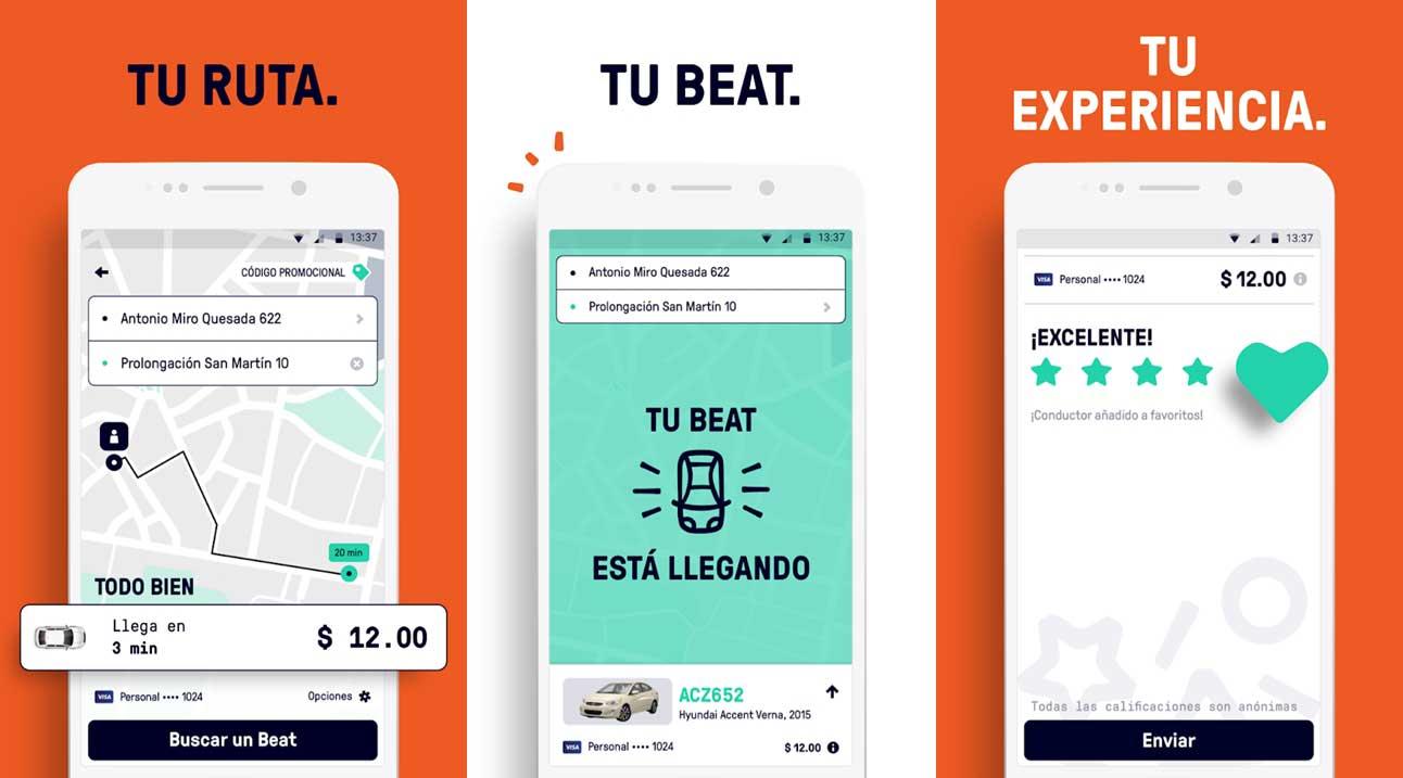 Beat competencia Uber