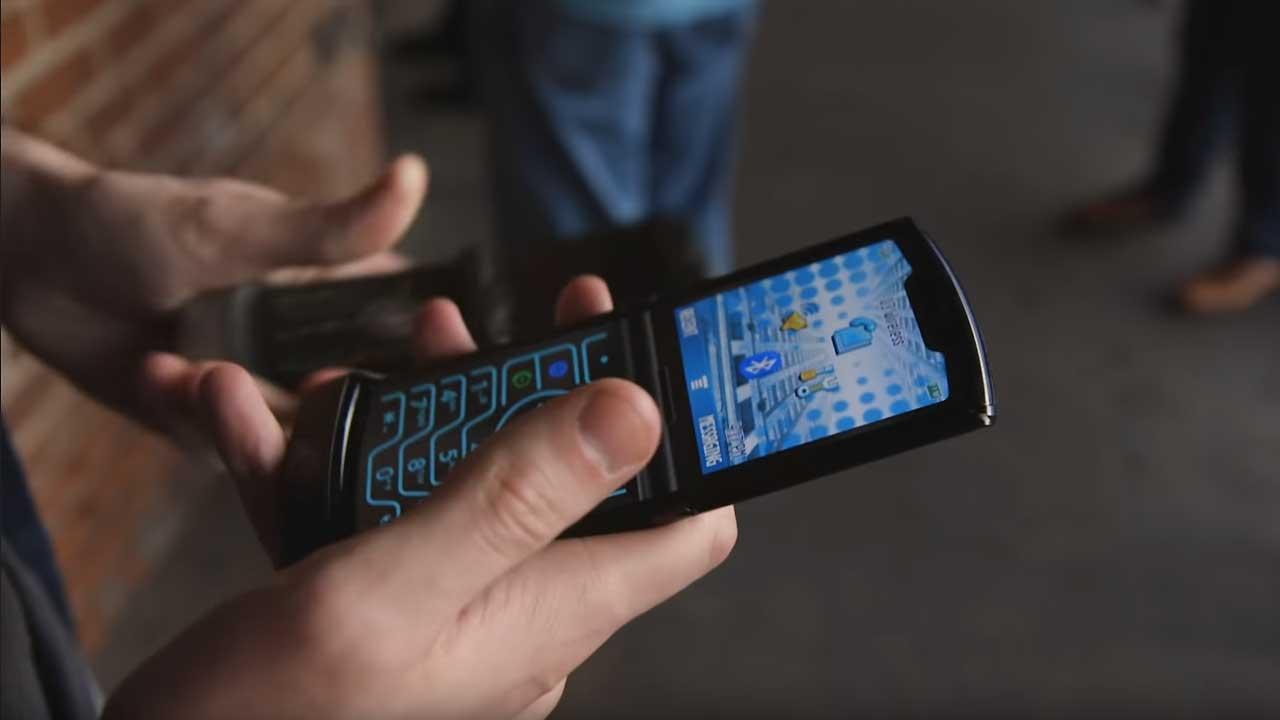 Modo retro Motorola Razr