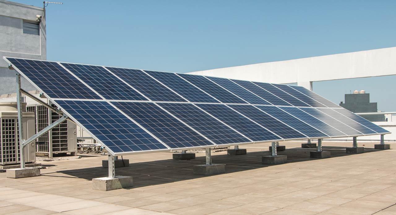 Panel solar EXO