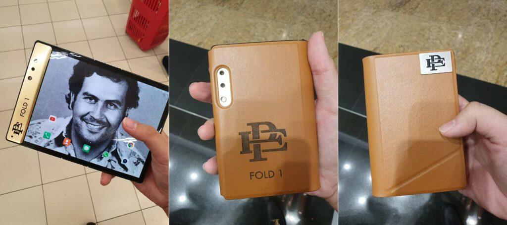 Celular Pablo Escobar Fold