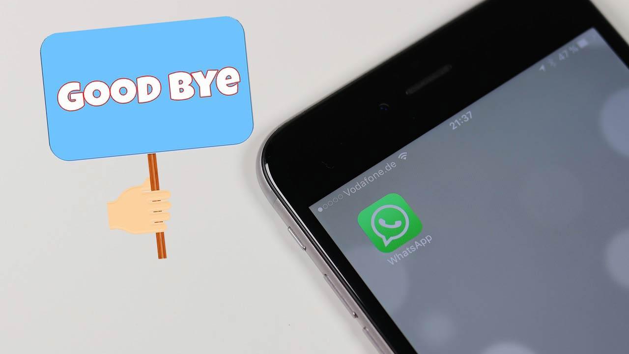 Adios WhatsApp