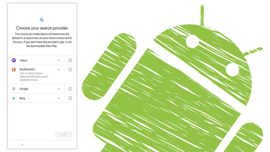 Buscadores alternativos Google Android