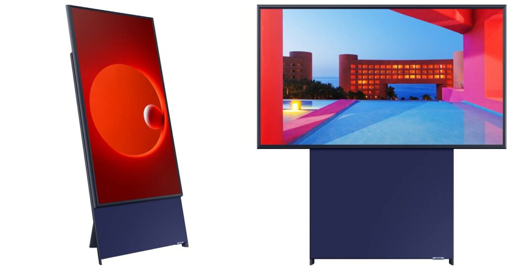Sero TV vertical Samsung