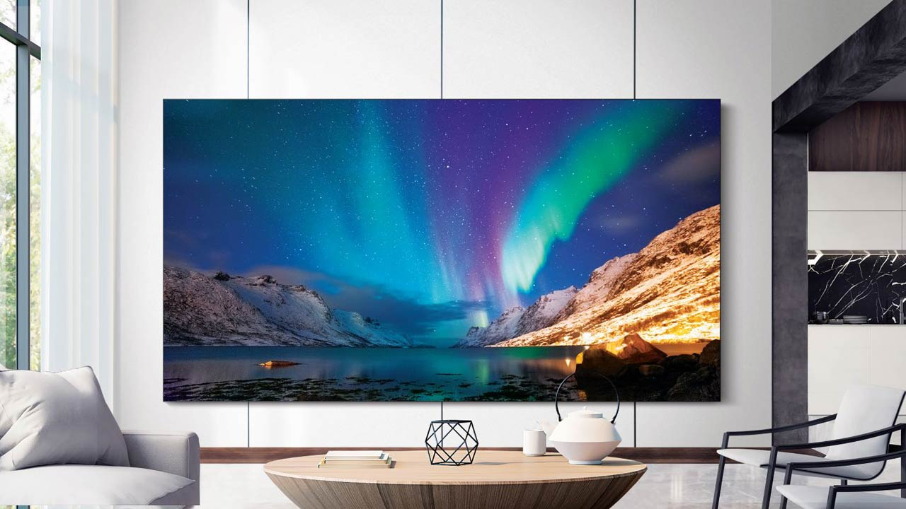 TV 8K Samsung
