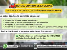 Boti, el chatbot de la Ciudad de Buenos Aires, ya indica en qué calles está permitido estacionar