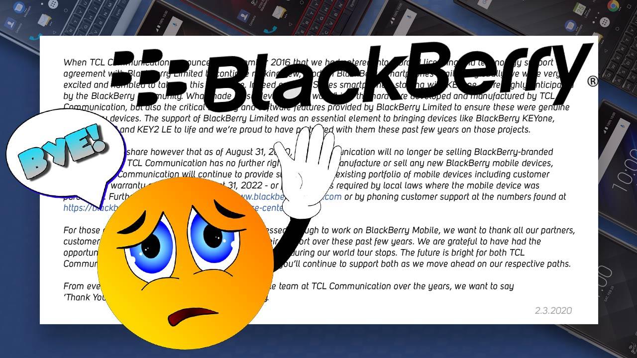 Cierra BlackBerry