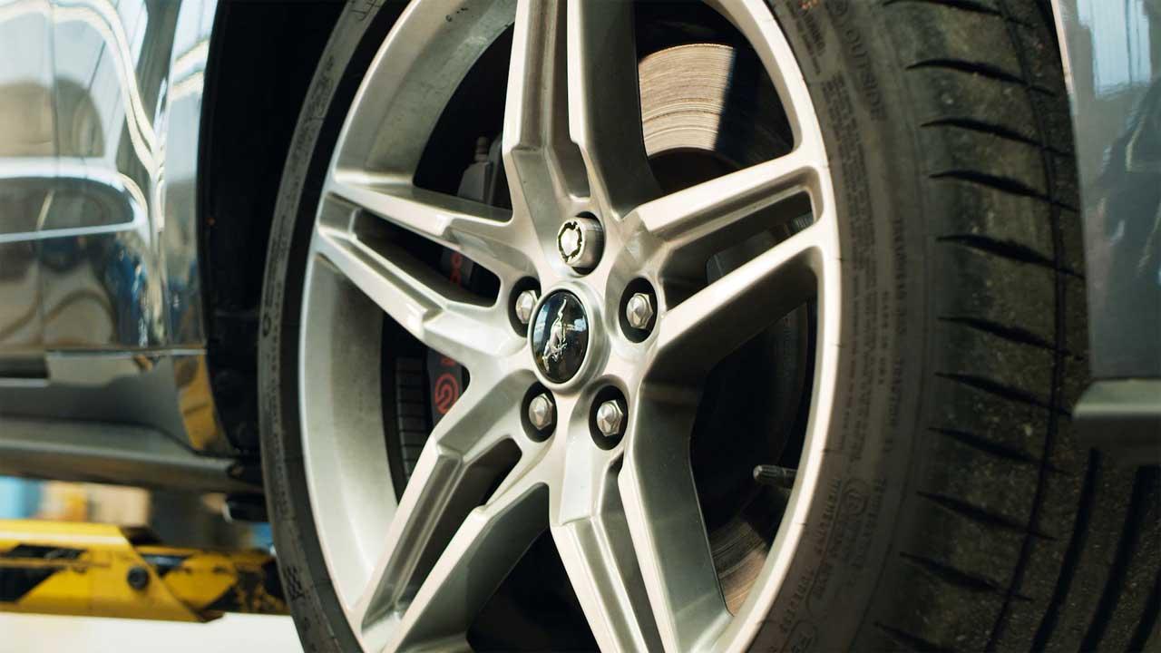 Tuerca seguridad voz Ford