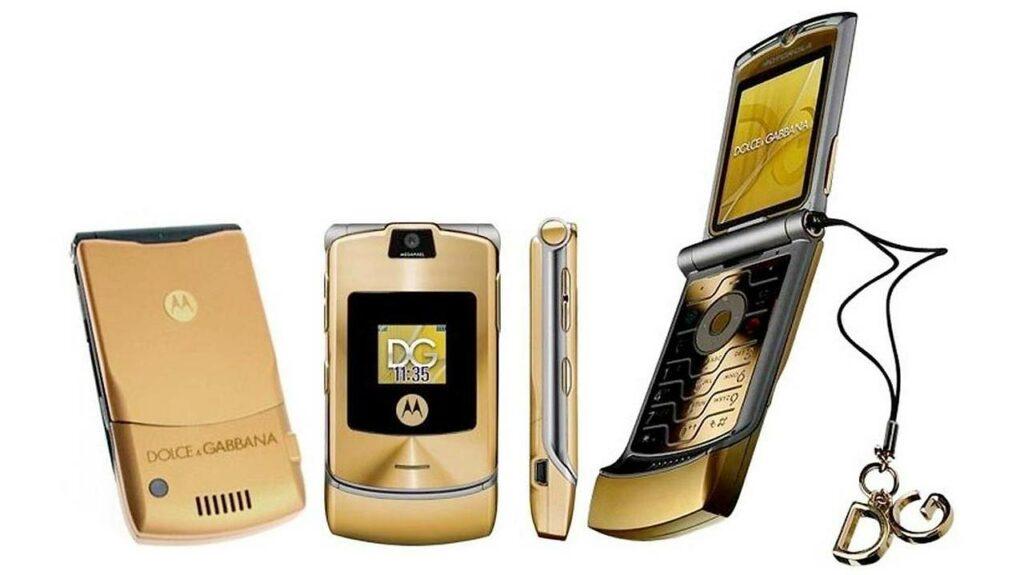 Motorola Razr Dolce & Gabbana