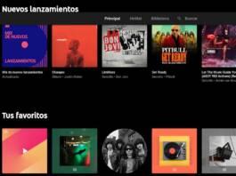 YouTube Music permitirá al usuario subir su propia música
