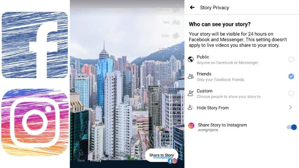 Compartir Historias Facebook Instagram