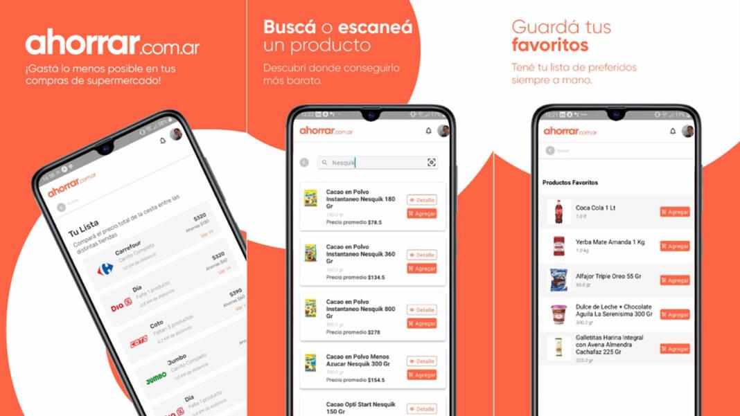 App Ahorrar compras