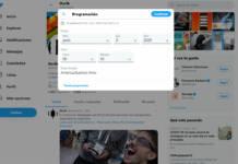 Programar mensajes Twitter