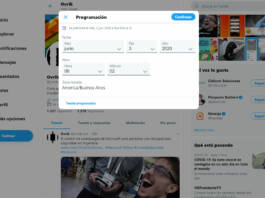 Twitter ahora permite programar la hora de publicación de un mensaje