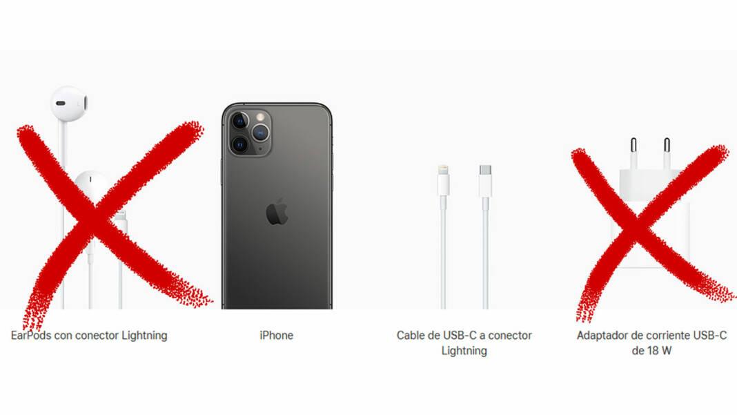 Apple cargador auriculares