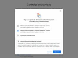 Cómo borrar automáticamente el historial de actividad de Google