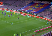 Futbol español sonido tribuna