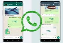 WhatsApp envio dinero