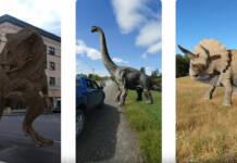 Dinosaurios Google