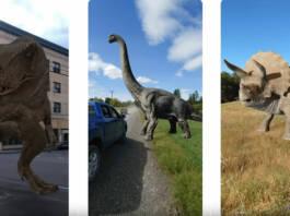 Cómo ver dinosaurios (y otros animales) en tamaño real gracias a la Realidad Aumentada de Google